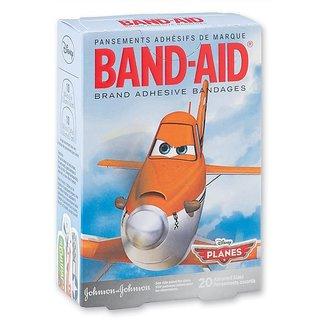 Band-Aid Bandages 20Pk - Disney Planes