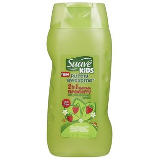 Suave Kids 2 In 1 Shampoo 355ml (12oz) - Strawberry