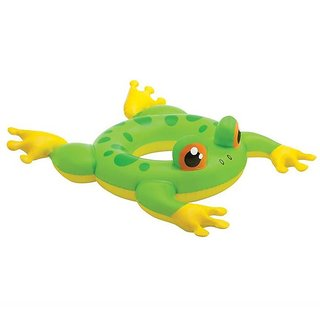 Intex Swimming Ring Frog - 58221NP (35In X 27In)