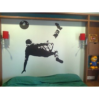 Pele Bicycle Kick Wall Decal