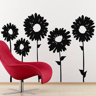 Sun Flowers Wall Decal