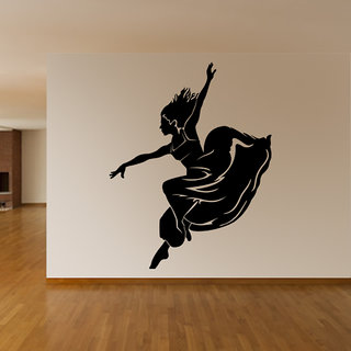 Dancing Lady Wall Decal