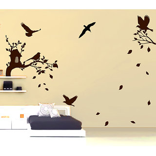 Busy Birds Wall Decal