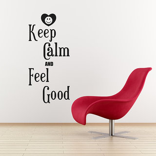 Keep Calm And Feel Good Wall Decal