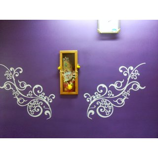 Decorative Scroll Wall Decal