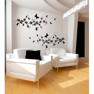 Butterflies And Branches Wall Decal