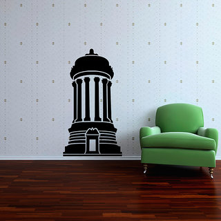 Cylindrical Architecture Wall Decal