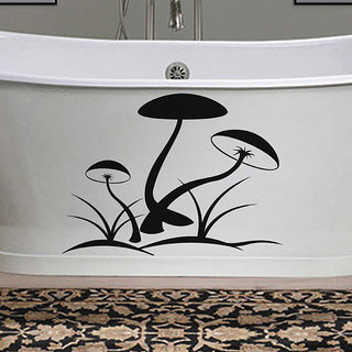 Mushrooms Wall Decal