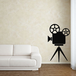 Camera Stand Wall Decal