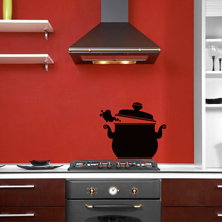 Steaming Pot Wall Decal