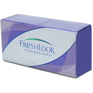 Freshlook Cosmetic Lens-Monthly Disposable-2 Lens Pack-Misty Grey0.00