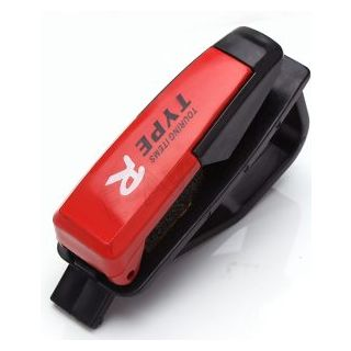 Type - R Car Vehicle Sun Visor Card Pen Portable Clip Storage
