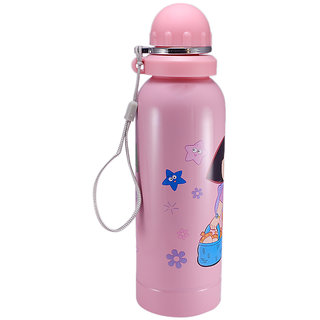 Saamarth Impex Figured Stainless Steel Double Walled Insulated Chiller Water Bottle 700ML for Kids SI-3219