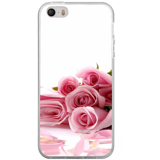 ifasho Red Rose bunch Back Case Cover for Apple Iphone 4