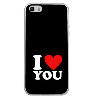 ifasho Love Quotes I love you Back Case Cover for Apple Iphone 4