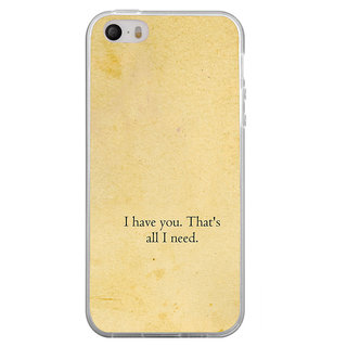 ifasho I have you thats all I need Back Case Cover for Apple Iphone 4