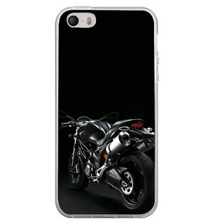 ifasho Sports Bike  Back Case Cover for Apple Iphone 4
