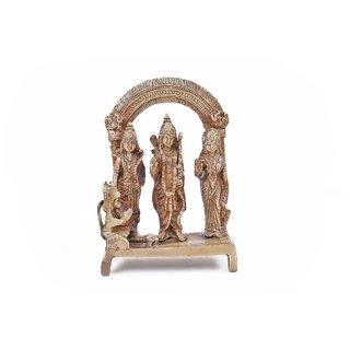 Creative Crafts Brass Ram Darbar Hindu God Statue Home Decorative Handicraft Corporate/Diwali Gift
