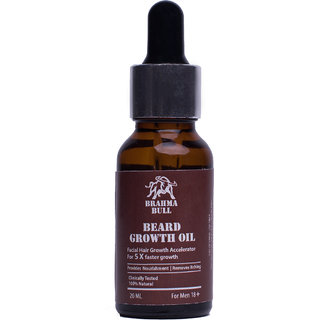 Brahma Bull Beard Growth Oil (20ml)