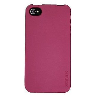 Sonix 200-1013-001 Snap! for iPhone 4/4S - Face Plate - Retail Packaging - Plum
