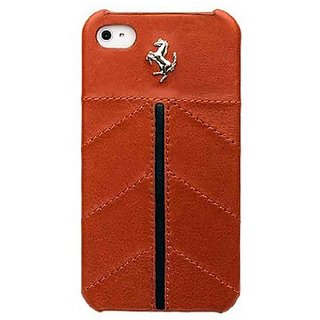 MastersClub Inc. FECFIP4KA Case for iPhone 4/4S - 1 Pack - Retail Packaging - Camel
