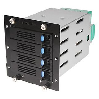 Chenbro 4 x 3.5 Inches HDD Cage for SR105/SR209 with BP/80mm Fan 84H220910-079