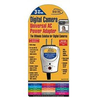 Sakar Digital Camera Universal AC Power Adapter For Use With Canon And Sony Digital Cameras (CH-1010-8-BP)