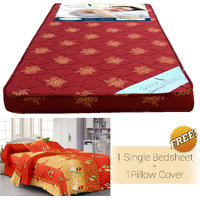 Story @ Home Maroon Foam Matress(72