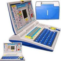 Learning Laptop English Alphabets, Numbers & Sound Gift Toy For Kids