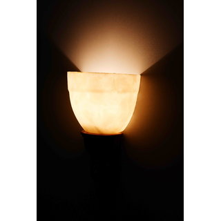 Contemporary yellow steel wall lamp by Lightspro