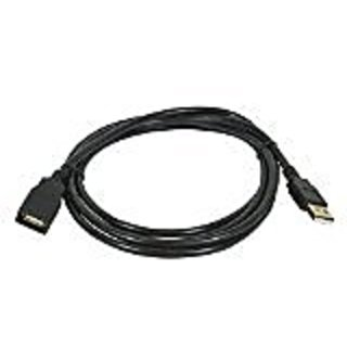 Monoprice 6-Feet USB 2.0 A Male to A Female Extension 28/24AWG Cable (Gold Plated) (105433)