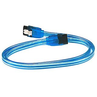 eDragon 24inch SATA 6Gbps Cable w/Locking Latch - UV Blue - 20 Pack