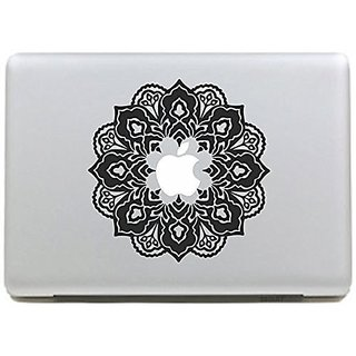 CLEARANCE SALE - IDEAPRO Paper Cutting Flower Decal - New Ad Decal Laptop Creative Decorative Vinyl Sticker Skins for Ma