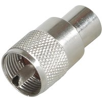 Times Microwave Pl259-silver-teflon-connector MPD Digital PL259 Antenna Connector