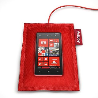 Nokia DT-901 Wireless Charging Pillow by Fatboy DT901 - Retail Packaging - Red