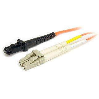 StarTech.com FIBLCMT2 2m Multimode 62.5/125 Duplex Fiber Patch Cable LC - MTRJ