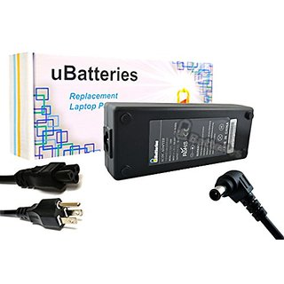 UBatteries Laptop AC Adapter Charger Sony VAIO VGN-NW100J VGN-NW100Y VGN-NW105J VGN-NW105J/S VGN-NW105J/T VGN-NW105J/W V