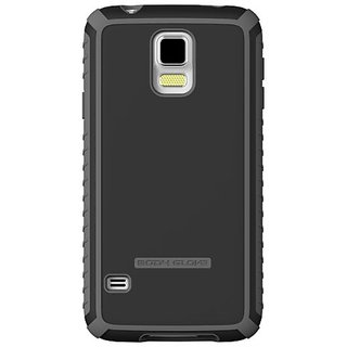 Body Glove Tactic Phone Case for Samsung Galaxy S5 - Retail Packaging - Black