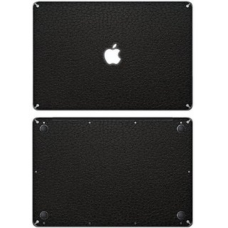 XGear EXO Skin Protective Vinyl Skin for 15-Inch Apple MacBook Pro - Black Leather (MB15-EXO-LBK)