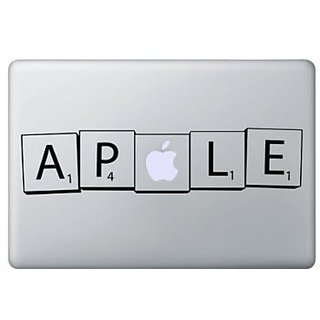 Scrabble Macbook Vinyl Sticker Laptop Skin