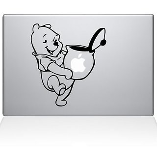 Pooh Honey Macbook Vinyl Sticker Laptop Skin