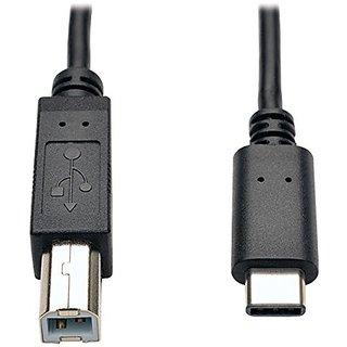TRIPP LITE USB 2.0 Hi-Speed Cable B Male to USB Type-C Male 6 (U040-006)