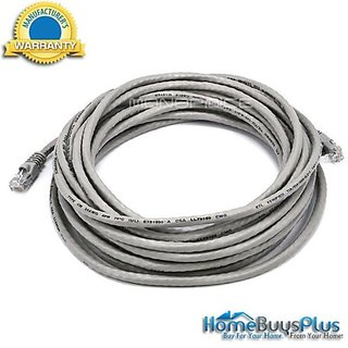 Monoprice 25FT 24AWG Cat6 550MHz UTP Ethernet Bare Copper Network Cable - Gray