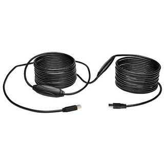 Tripp Lite USB 3.0 SuperSpeed Active Repeater Cable (AB M/M) 36ft. (11M) (U328-036)