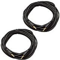Seismic Audio SA-iE25-2Pack 6-Inches Stage And Studio Patch Cable
