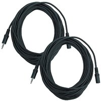 Seismic Audio SA-iMF25-2Pack 6-Inches Stage And Studio Patch Cable