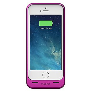 mophie Extended Battery Case for iPhone 5/5S - Retail Packaging - Metallic Pink