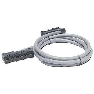25FT Data Distribution Cable CAT5E UTP Cmr GRAY6XRJ-45