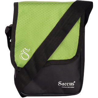 Saccus Small Sling Green Bag