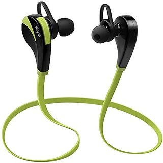 Skyndi ACTIVears Wireless Bluetooth Sports Gym Running Exercise Sweatproof Headphones with Built-In Mic for Handsfree